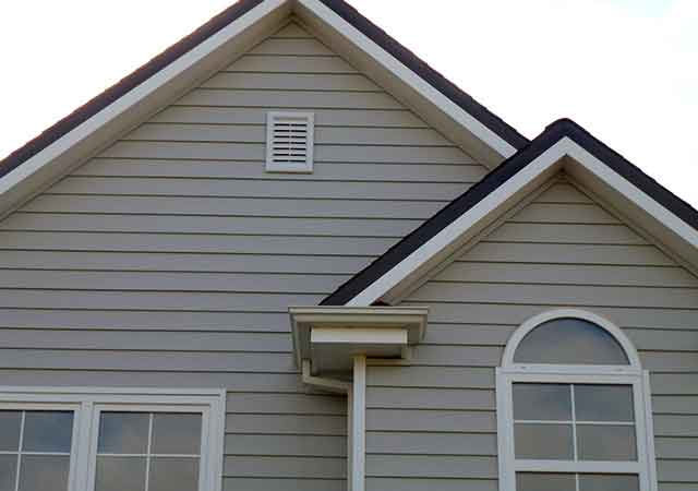 Vinyl Weatherboard Gables Eaves