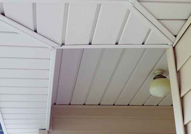 Vinyl Weatherboard Gables Eaves 3