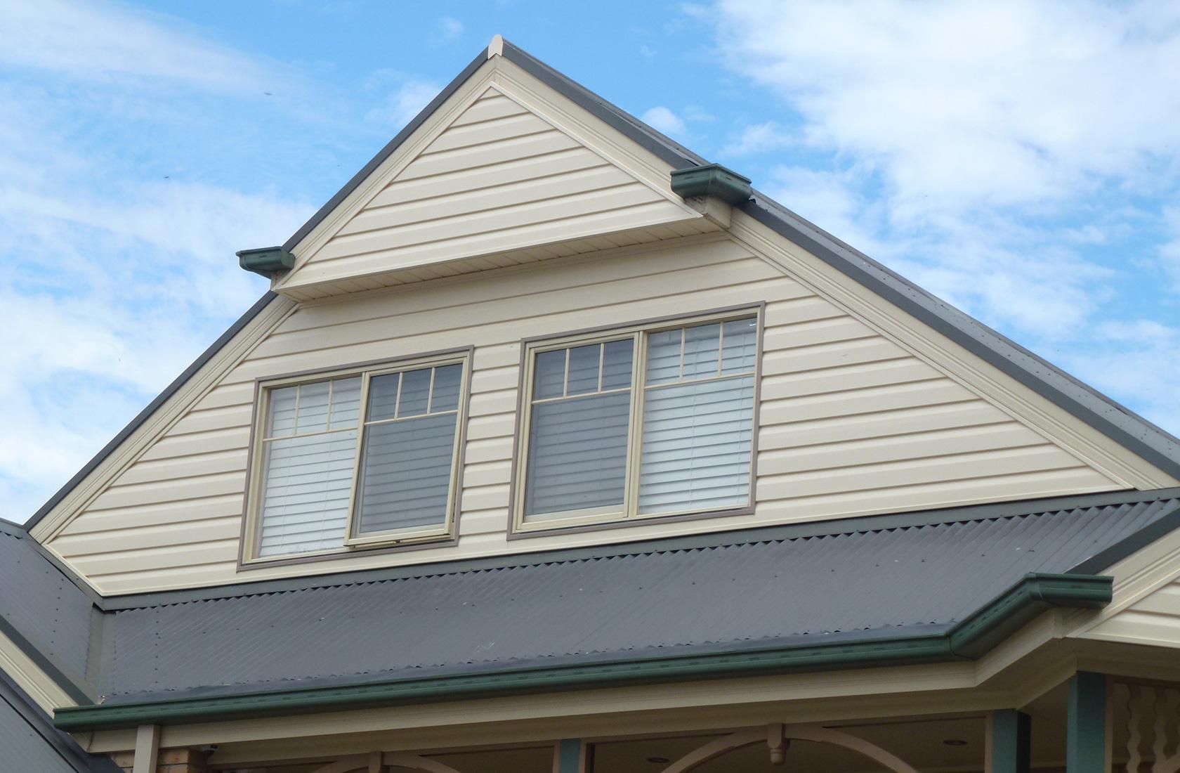 Mill Park Cladding Installation On Townhouses Vinyl