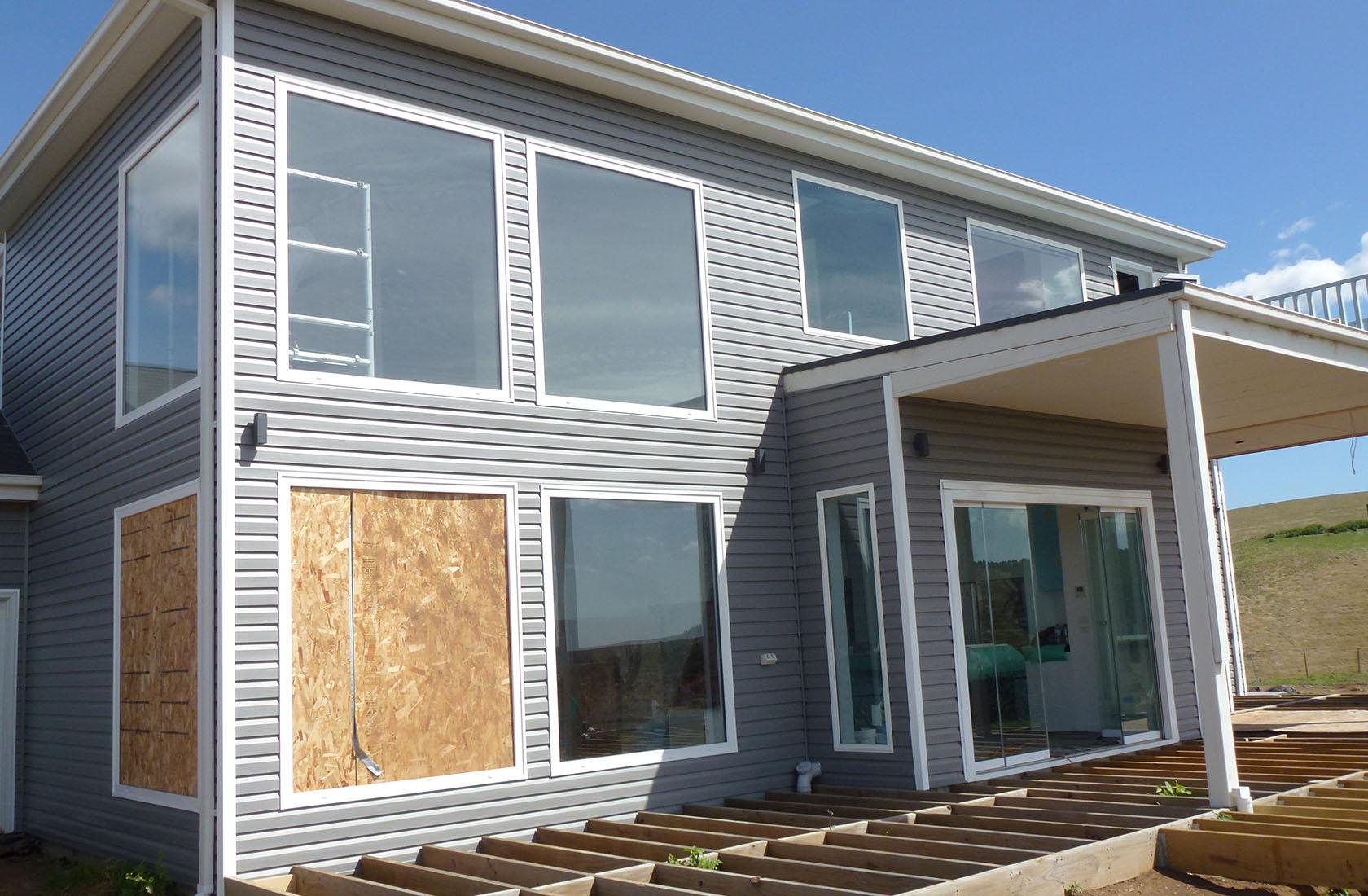Pentland Hills Counrty Home Cladding Installation Vinyl